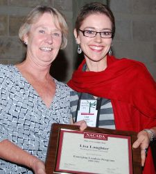 Lisa Laughter with President Kathy Stockwell.jpg