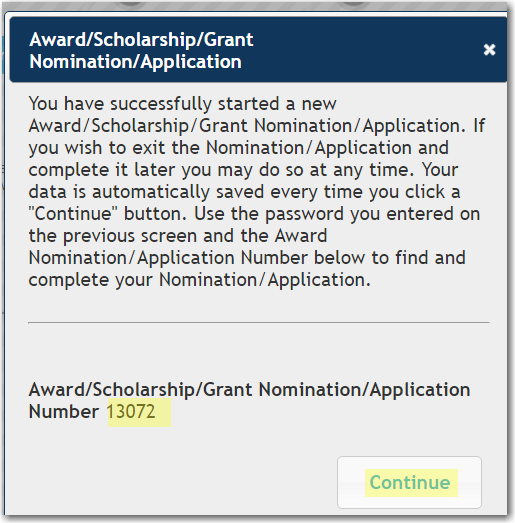 Awards Scholarships Number Image